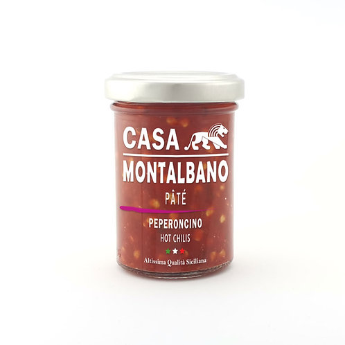 CASA MONTALBANO - Patè di Peperoncino in Olio EVO