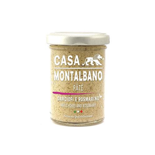 CASA MONTALBANO - Patè di Carciofi e Rosmarino in Olio EVO