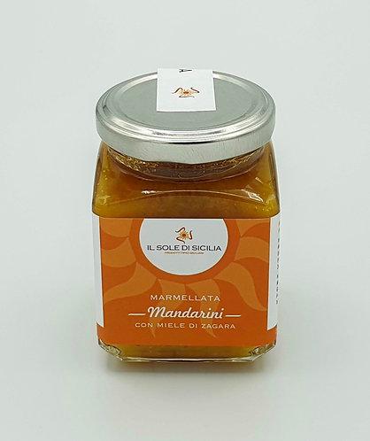 IL SOLE DI SICILIA - Marmellata di Mandarini con Miele di Zagara