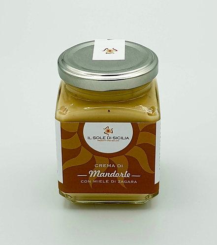 IL SOLE DI SICILIA - Crema di Mandorle con Miele di Zagara