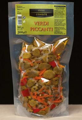 AGRESTIS - Olive Verdi Condite Piccanti