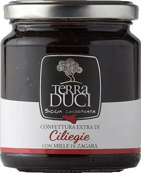 TERRA DUCI - Confettura Extra Ciliegie con Miele di Zagara