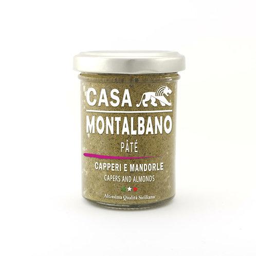 CASA MONTALBANO - Patè di Capperi e Mandorle in Olio EVO