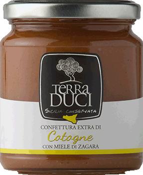TERRA DUCI - Confettura Extra Cotogne con Miele di Zagara