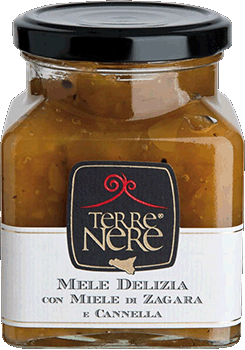 TERRE NERE - Confettura Mele Delizia con Miele di Zagara e Cannella