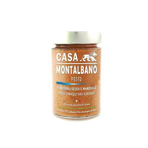CASA MONTALBANO - Pesto Pomodoro Secco e Mandorle in Olio EVO