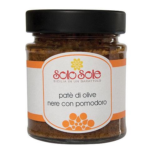 SOLO SOLE - Patè di Olive Nere e Pomodori Secchi