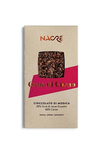 NACRE' - Cioccolato di Modica IGP Caratterizzato con Gruè di Cacao