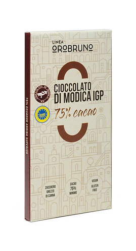 OROBRUNO - Cioccolato di Modica IGP 75% Cacao