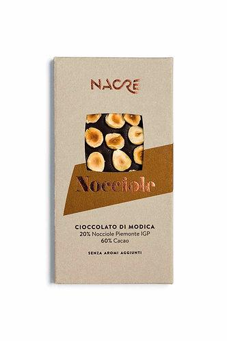 NACRE' - Cioccolato di Modica IGP Caratterizzato con Nocciole Piemonte IGP