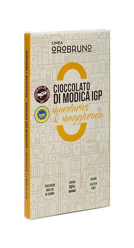 OROBRUNO - Cioccolato di Modica IGP Mandarino e Maggiorana