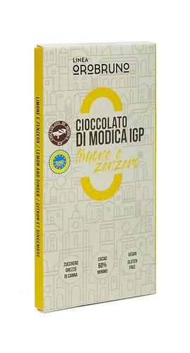 OROBRUNO - Cioccolato di Modica IGP Limone e Zenzero