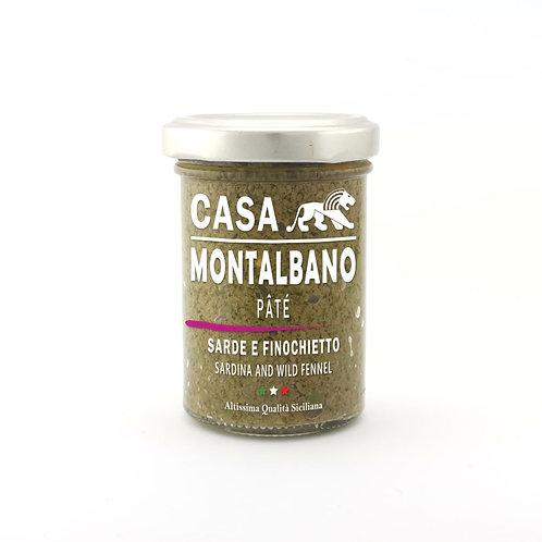 CASA MONTALBANO - Patè di Sarde e Finocchietto in Olio EVO