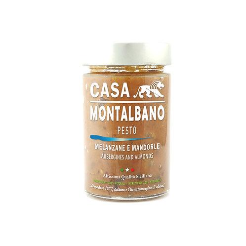 CASA MONTALBANO - Pesto Melanzane e Mandorle in Olio EVO