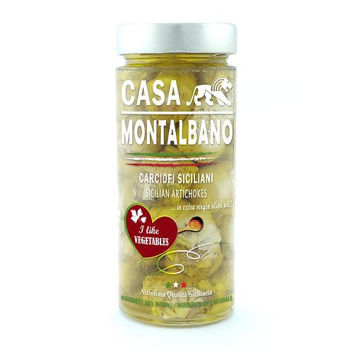 CASA MONTALBANO - Carciofi Siciliani in Olio EVO