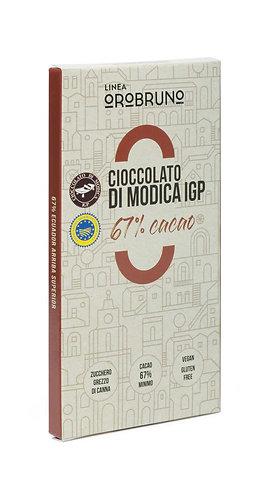 OROBRUNO - Cioccolato di Modica IGP 67% Cacao Ecuador