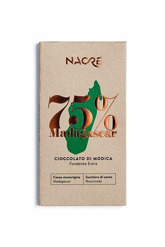 NACRE' - Cioccolato di Modica IGP Fondente Monorigine Madagascar 75%