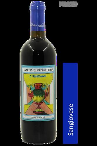 CANTINE PRIVITERA - Sangiovese Terre Siciliane IGT