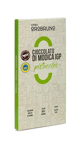 OROBRUNO - Cioccolato di Modica IGP Pistacchio