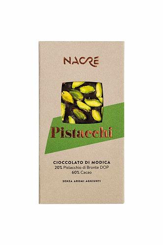 NACRE' - Cioccolato di Modica IGP Caratterizzato con Pistacchi