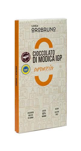 OROBRUNO - Cioccolato di Modica IGP Aromatizzato Arancia