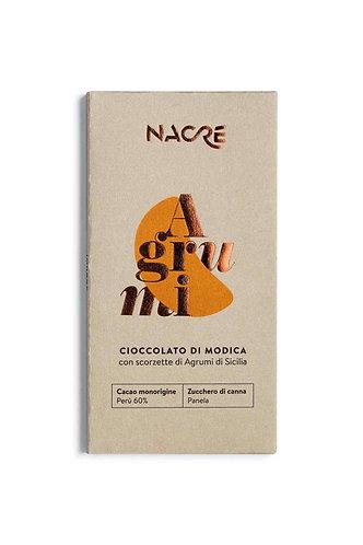 NACRE' - Cioccolato di Modica IGP Aromatizzato Agrumi di Sicilia