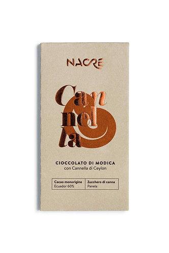 NACRE' - Cioccolato di Modica IGP Aromatizzato Cannella Ceylon