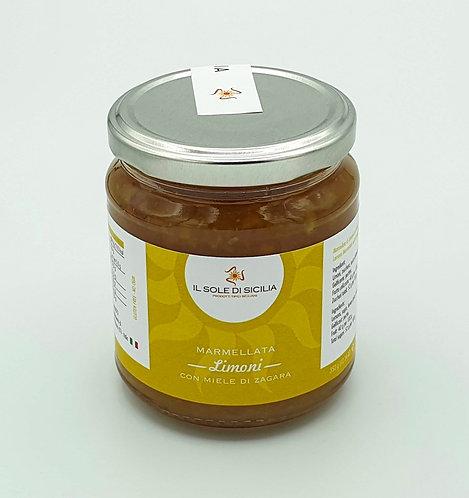 IL SOLE DI SICILIA - Marmellata Limoni con Miele di Zagara