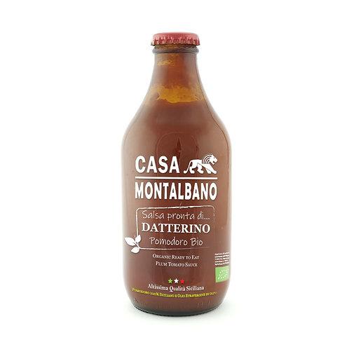 CASA MONTALBANO - Salsa Pronta di Pomodoro Datterino BIO in Olio EVO
