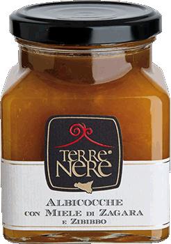 TERRE NERE - Confettura Albicocche con Miele di Zagara e Zibibbo