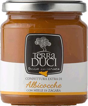 TERRA DUCI - Confettura Extra Albicocche con Miele di Zagara
