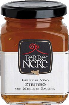 TERRE NERE - Gelée di Vino Zibibbo con Miele di Zagara