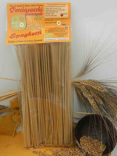 ANTICHI GRANAI - Spaghetti di Perciasacchi Semintegrale BIO
