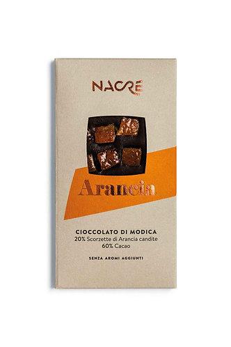NACRE' - Cioccolato di Modica IGP Caratterizzato con Scorze di Arancia Candita