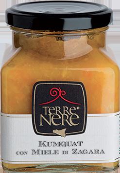 TERRE NERE - Marmellata Kumquat con Miele di Zagara
