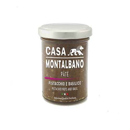 CASA MONTALBANO - Patè di Pistacchio e Basilico in Olio EVO