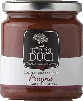 TERRA DUCI - Confettura Extra Prugne con Miele di Zagara