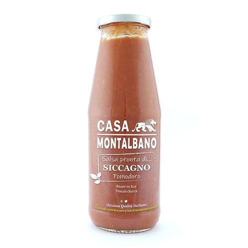 CASA MONTALBANO - Salsa Pronta di Pomodoro Siccagno BIO