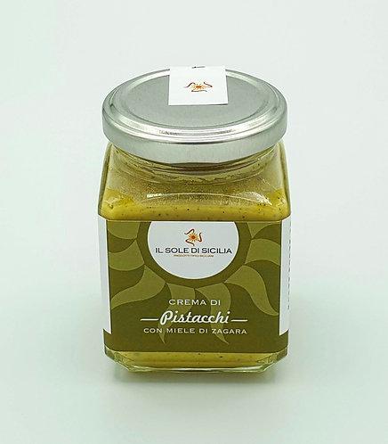 IL SOLE DI SICILIA - Crema di Pistacchi con Miele di Zagara