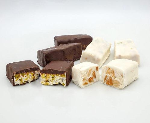 Torroncini al Cioccolato Bianco e Fondente