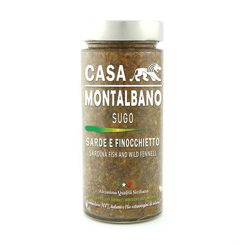 CASA MONTALBANO - Sugo Sarde e Finocchietto