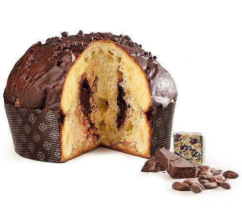 IL SOLE DI SICILIA - Panettone Artigianale al Cioccolato Fondente