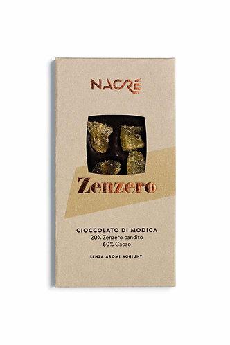 NACRE' - Cioccolato di Modica IGP Caratterizzato con Zenzero Candito