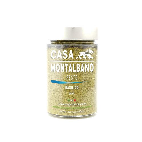 CASA MONTALBANO - Pesto al Basilico in Olio EVO