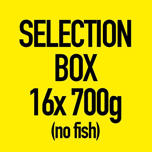 16x 700g Selection Box (No Fish)