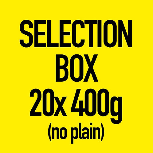 20x 400g Selection Box (No Plain)