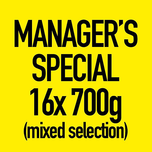 16x 700g Manager's Special (Mixed)