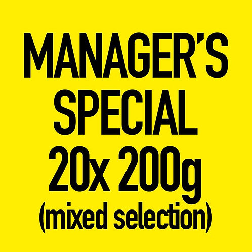 20x 200g Manager's Special (Mixed)