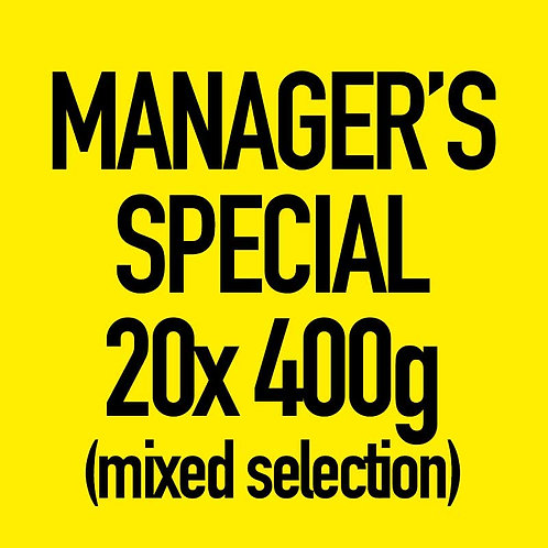 20x 400g Manager's Special (Mixed)