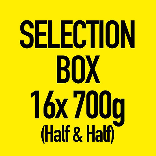 16x 700g Selection Box (Half & Half)